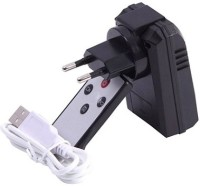 Autosity Detective Survilliance Charger HD Camera with Remote Charger Spy Product Camcorder(Black)