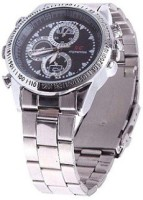 spydo Secrete Security Based (sc) Surveillance Based Chain Hand Watch Spy Product Camcorder(Black)