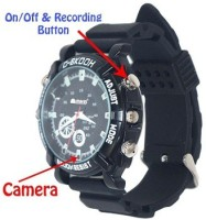 Autosity Detective Security Night vison watch_2 Watch Spy Product Camcorder(Black)