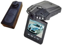 Autosity Detective Survilliance 918-Button-HD-CarDVR Button Spy Product Camcorder(Black)