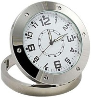 View Autosity Detective Security Silver HD Camera Clock Spy Product Camcorder(Silver) Camera Price Online(Autosity)