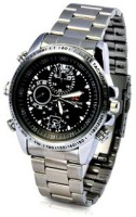 Autosity Detective Security Electro SC 07 Watch Spy Product Camcorder(Silver)
