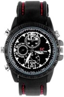 Autosity Detective Survilliance (sc) Survilliance Wrist Watch Spy Camera Camcorder(Black)