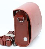 Caiul Fuji instax mini 90 case  Camera Bag(Brown)