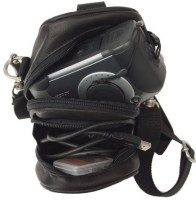 Piel Leather 2501  Camera Bag(Black)