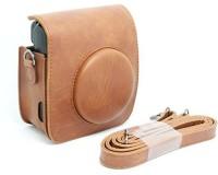 Caiul Fuji instax mini 50s case  Camera Bag(Maroon)