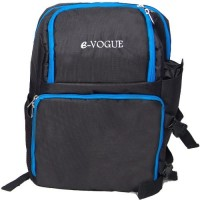 E-Vogue CBRT1 DSLR Camera Backpack with Laptop Compartment, Waterproof Rain Cover and Tripod Holder  Camera Bag(Black)
