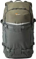 Lowepro Flipside Trek BP 450 AW  Camera Bag(Grey, Green)