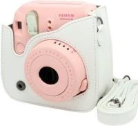 Caiul Fuji instax mini 8 case  Camera Bag(White)
