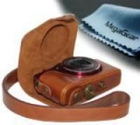MegaGear MG354  Camera Bag(Light Brown)