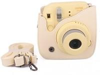 Caiul Fuji instax mini 8 case  Camera Bag(Beige)