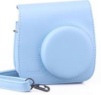 Caiul Fuji instax mini 8 case  Camera Bag(Blue)