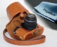 MegaGear MG369  Camera Bag(Light Brown)