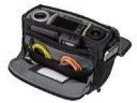 Tenba 633-301  Camera Bag(Black/Black Faux Leather)