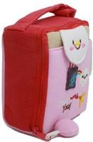 Woodmin Fuji instax mini camera case pouch  Camera Bag(Pink)