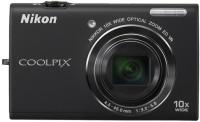 Nikon S6200 Point & Shoot Camera(Black)