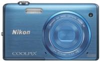 Nikon S5200 Point & Shoot Camera(Blue)
