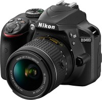 Nikon D3400 DSLR Camera (Body only) (16 GB SD Card + Camera Bag)(Black)