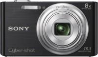 Sony DSC-W730 Point & Shoot Camera(Black)