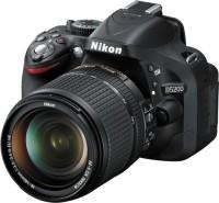 Nikon D5200 DSLR Camera (Body with 18 - 140 mm VR DX Lens)(Black)