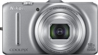 Nikon S9300 Point & Shoot Camera(Silver)