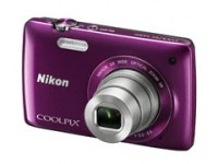 Nikon S4300 Point & Shoot Camera(Purple)