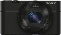 Sony R DSC-RX100 Point And Shoot Camera Black