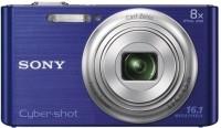 Sony DSC-W730 Point & Shoot Camera(Blue)