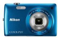 Nikon S4300 Point & Shoot Camera(Blue)
