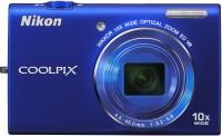 Nikon S6200 Point & Shoot Camera(Blue)