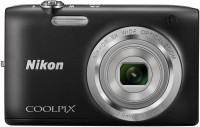 NIKON S2800 Point & Shoot Camera(Black)