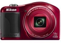 Nikon L610 Point & Shoot Camera(Red)