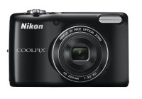 Nikon L26 Point & Shoot Camera(Black)