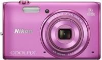 NIKON S5300 Point & Shoot Camera(Pink)