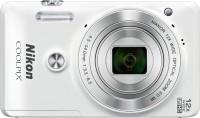 NIKON S6900 Point & Shoot Camera(White)