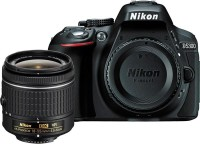 Nikon D5300 DSLR Camera (Body with AF-P DX NIKKOR 18-55 mm f/3.5-5.6G VR Kit)(Black)