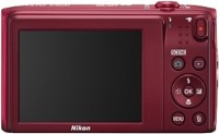 NIKON S3600 Point & Shoot Camera(Red)