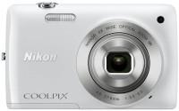 Nikon S4300 Point & Shoot Camera(White)
