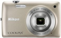 Nikon S4300 Point & Shoot Camera(Silver)