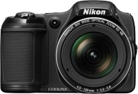 Nikon L820 Advanced Point & Shoot Camera(black)