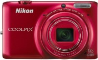 Nikon S6500 Advanced Point & Shoot Camera(Red)