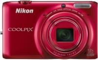 Nikon S6500 Advanced Point & Shoot Camera(Red)