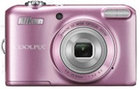 Nikon L28 Point & Shoot Camera(Pink)