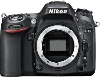 Nikon D7100 DSLR Camera Body with Single Lens: AF-S 18-105 mm VR Lens (16 GB SD Card + Camera Bag)(Black)