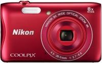 Nikon S3700 Coolpix Camera Mirrorless Camera(Red)