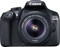 Canon EOS 1300D DSLR Camera (Body with EF-S 18 - 55 mm IS II + EF-S 55 - 250 mm F4 5.6 IS II)(Black
