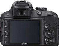 Nikon D3300 DSLR Camera Body with Single Lens: AF-P DX NIKKOR 18 - 55 mm  F3 5-5 6 VR (16 GB SD Card + Camera Bag)