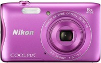 NIKON S3700 Coolpix Camera Mirrorless Camera(Pink)