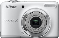 Nikon L25 Point & Shoot Camera(White)