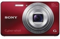 Sony DSC-W690 Mirrorless Camera(Red)